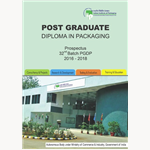 34th BATCH PGDP - POST GRADUATE DIPLOMA IN PACKAGING  (2018 - 2020)